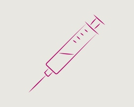 Ikonica hipodermične igle za skleroterapiju
