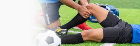 Povrijeđeni fudbaler i ljekar sa Lioton 1000 gelom